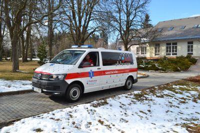 Podhorská nemocnice pořídila nový sanitní vůz a zmodernizovala sociální hospitalizaci