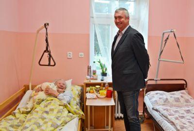 Podhorská nemocnice dnes slavnostně otevřela zmodernizované oddělení sociální hospitalizace