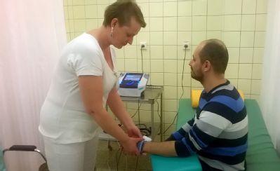 Pacientům rehabilitace Podhorské nemocnice slouží nové vybavení
