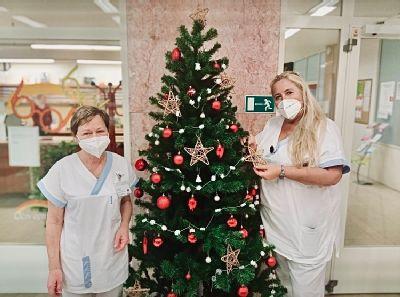 Nemocnice AGEL Podhorská se ponořila do vánoční atmosféry